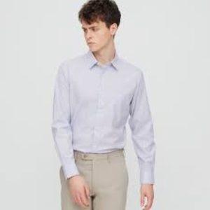UNIQLO - Easy Care Checked slim Fit LS Shirt
